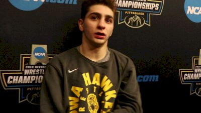 Austin DeSanto Reflects After AA Finish