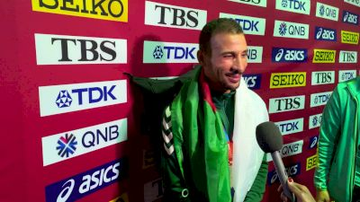 Taoufik Makhloufi Says He's Lucky Worlds Were So Late In His Injury Comeback