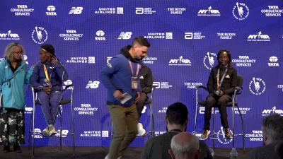 NYC Marathon Women's Podium Press Conference