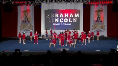 Abraham Lincoln High School [2019 Large Coed Advanced High School Finals] NCA Senior & Junior High School National Championship