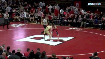 197 lbs Jordan Pagano, Rutgers vs Christian Brunner, Purdue