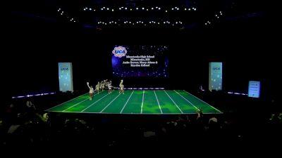 Minnetonka High School [2020 Medium Non Tumbling Game Day Finals] 2020 UCA National High School Cheerleading Championship