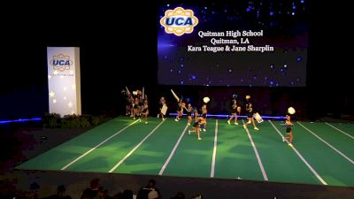 Quitman High School [2020 Large Non Tumbling Game Day Finals] 2020 UCA National High School Cheerleading Championship