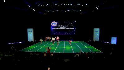 Milford High School [2020 Varsity Non Building Game Day Finals] 2020 UCA National High School Cheerleading Championship