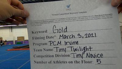 Pacific Coast Magic - Irvine [L1 Tiny - Novice - Restrictions] 2021 Varsity Virtual Competition Series - Prep & Novice I