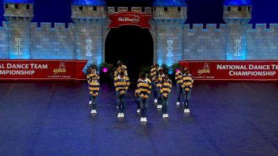 Triple Threat Athletics - PYRO [2021 Youth - Hip Hop Semis] 2021 UDA National Dance Team Championship