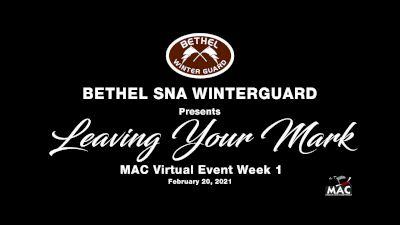 Bethel SNA Winterguard - Leaving Your Mark