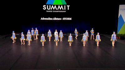 Adrenaline Allstars - STORM [2021 Youth Pom - Large Semis] 2021 The Dance Summit