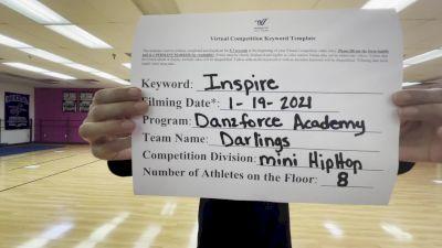 DanzForce Academy - DanzForce Academy - Darlings [Mini - Hip Hop] 2021 GSSA DI & DII Virtual Championship