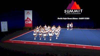 Florida Triple Threat Allstars - SASSY COED [2021 L3 Junior - Medium Semis] 2021 The D2 Summit