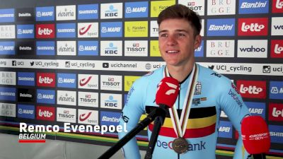 Remco Evenepoel: 'Personally To Me, It Feels Like A Victory'