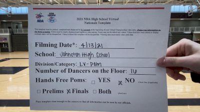 Johnston High School [Virtual Large Varsity - Pom Finals] 2021 NDA High School National Championship