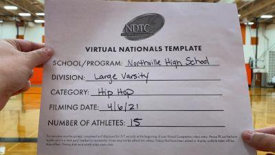 Northville High School [Virtual Large Varsity - Hip Hop Semi Finals] 2021 UDA National Dance Team Championship