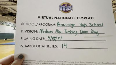 Pennridge High School [Virtual Medium Varsity Non Tumbling Game Day Finals] 2021 UCA National High School Cheerleading Championship