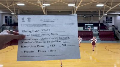 Russell High School [Varsity - Game Day - Medium Virtual Prelims] 2021 NDA High School National Championship