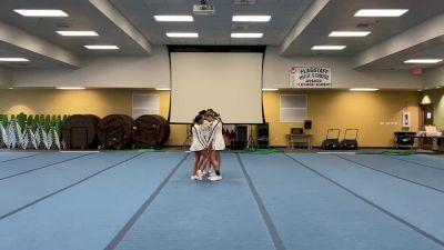 Flagstaff High School [HS Group Stunt Advanced - All Female] 2020 USA Arizona & Utah Virtual Regional