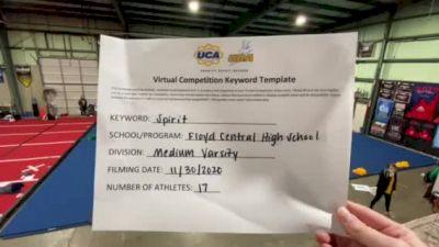 Floyd Central High School [Medium Varsity] 2020 UCA Hoosier Virtual Regional