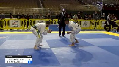 Don't Blink: Lucas Pinheiro Wins With Sudden Toe Hold At Pans