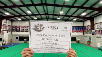 Louisiana Rebel All Stars - Redemption [L4 Senior - Small - B] 2021 NCA All-Star Virtual National Championship