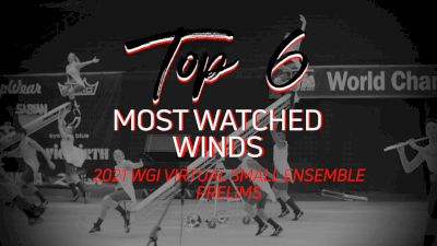 Top 6: Most Watched Winds - WGI Virtual Small Ensembles Prelims