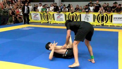 Paulo Miyao vs Carlos Alberto Oliveira 2021 Pan IBJJF Jiu-Jitsu No-Gi Championship Flozone