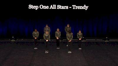 Step One All Stars - Trendy [2021 Junior Coed Hip Hop - Small Semis] 2021 The Dance Summit
