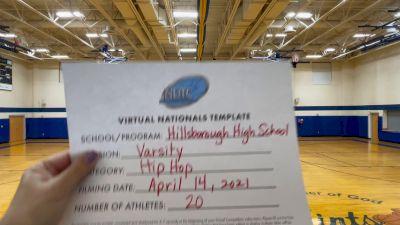 Hillsborough High School [Large Varsity - Hip Hop Virtual Finals] 2021 UDA National Dance Team Championship