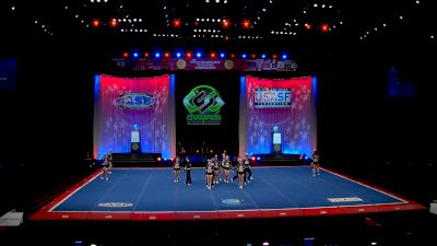 Planet Spirit - Blackout [2021 L6 Senior Open Small Coed Prelims] 2021 The Cheerleading Worlds
