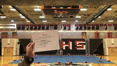 Bethel Park High School [Small Varsity] 2020 UCA Pocono Virtual Regional