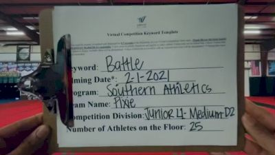Southern Athletics - Pixie [L1 Junior - D2] 2021MG Extravaganza Virtual Nationals