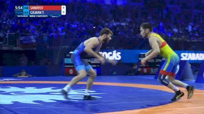 57 kg Semifinal - Nurislam SANAYEV (KAZ) vs. Thomas GILMAN (USA)