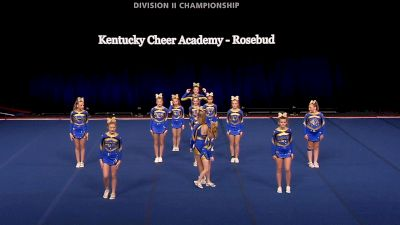 Kentucky Cheer Academy - Rosebud [2021 L2 Junior - Small Finals] 2021 The D2 Summit