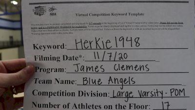 James Clemens High School [Varsity - Pom] 2020 NDA November Virtual Championship