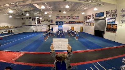 University Cheer Force - Mist [L1 Junior - Medium] 2021 GSSA DI & DII Virtual Championship