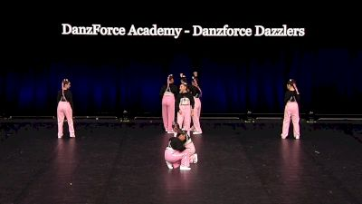 DanzForce Academy - Danzforce Dazzlers [2021 Junior Hip Hop - Small Semis] 2021 The Dance Summit