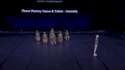 Fierce Factory Dance & Talent - Intensity [2021 Junior Contemporary / Lyrical - Small Semis] 2021 The Dance Summit