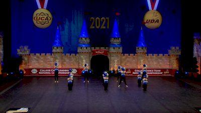 Hawkeye Community College [2021 Open Pom Semis] 2021 UCA & UDA College Cheerleading & Dance Team National Championship