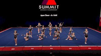 Apex Cheer - Jr. Gold [2021 L2 Junior - Small Semis] 2021 The D2 Summit