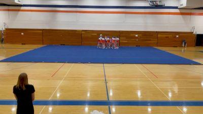 Timpview High School [Varsity Show Cheer Advanced] 2021 USA Virtual West Coast Spirit Championships