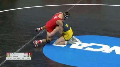 165 Blood Round, Logan Massa, Michigan vs Kaleb Romero, Ohio State