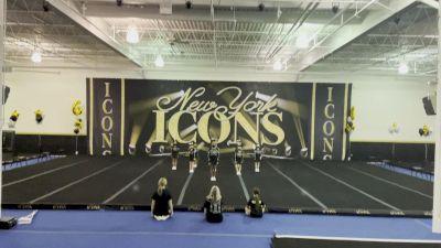 New York Icons [L1 Tiny - Novice - Restrictions] 2021 Varsity Virtual Competition Series - Prep & Novice I