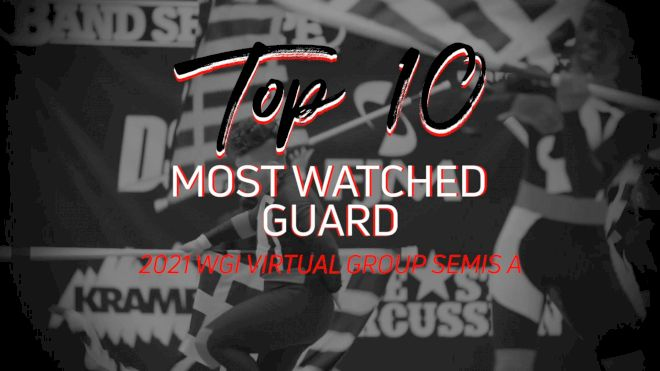 TOP 10: Most Watched Guard WGI Virtual Group Semis A