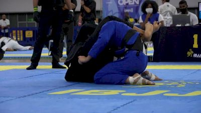 Gabrieli Pessanha Wins Rio Open Absolute Gold With Tight Triangle