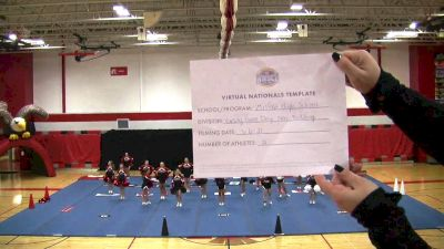 Milford High School [Virtual Game Day Varsity Non-Building Finals] 2021 UCA National High School Cheerleading Championship