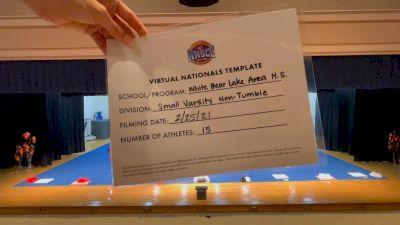 White Bear Lake Area High School [Virtual Small Varsity Non Tumble Finals] 2021 UCA National High School Cheerleading Championship
