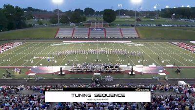 2021 Carolina Crown Brass: Tuning Sequence