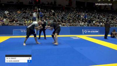 BRIAN D. ERNST vs DUSTIN SHELHAMER 2021 World IBJJF Jiu-Jitsu No-Gi Championship