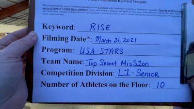 USA Stars - top secret misS1on [L1 Senior] 2021 The Regional Summit Virtual Championships