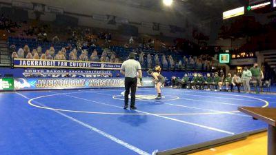 133 lbs Ty Smith, Utah Valley vs Kellyn March, NDSU