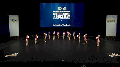 University of Cincinnati [2021 Division IA Pom Semis] 2021 UCA & UDA College Cheerleading & Dance Team National Championship